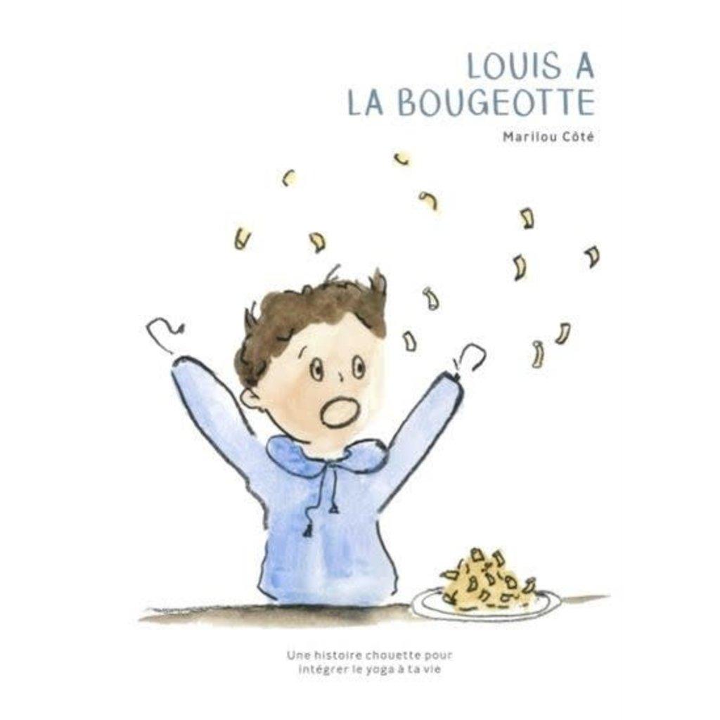 Les éditions Alaska Livre - Louis a la bougeotte