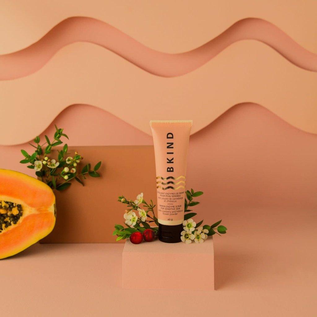 BKIND Exfoliant visage enzymes de papaye - Peau sensible