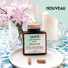 Santé Bien Cultivée Capsules véganes - Soulage-toux