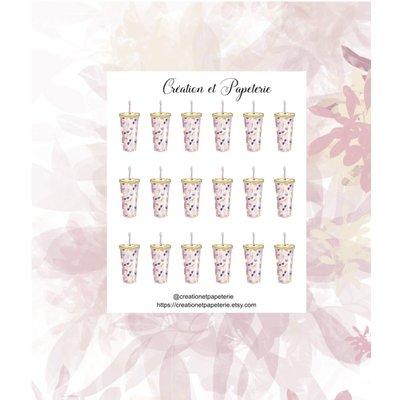 Création et Papeterie Autocollants - Hydratation