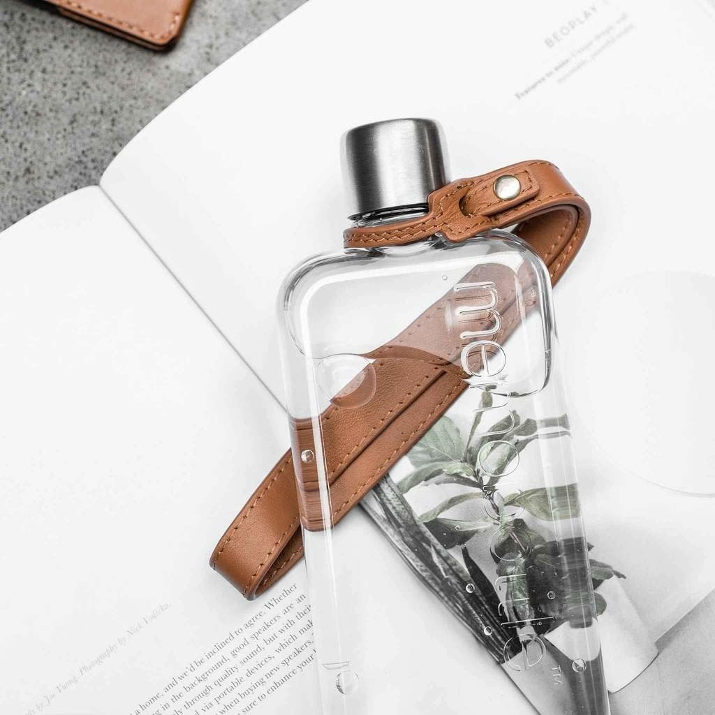 Memobottle Cordon de cuir pour bouteille