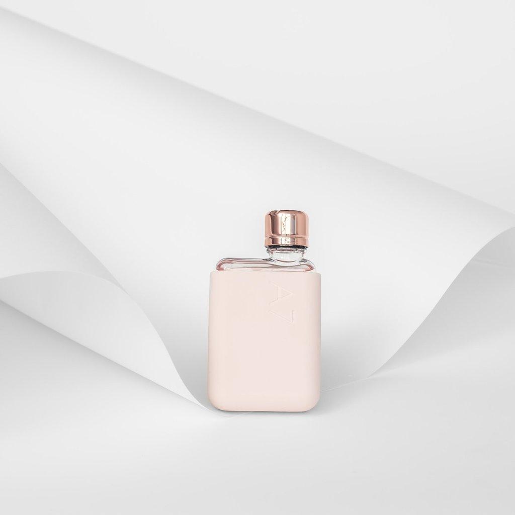 Memobottle Étui bouteille A7 - Rose pâle