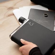 Memobottle Étui en silicone A5 - Noir