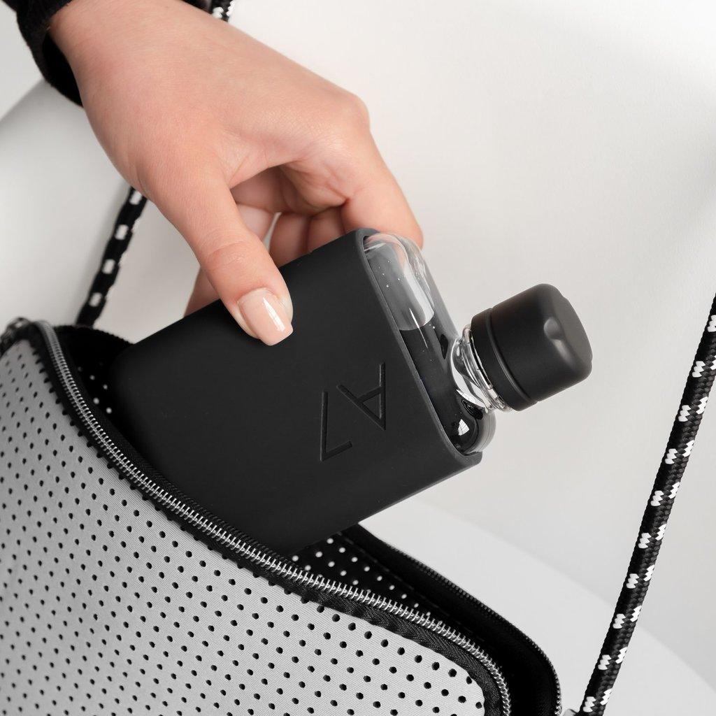 Memobottle Étui en silicone A7 - Noir