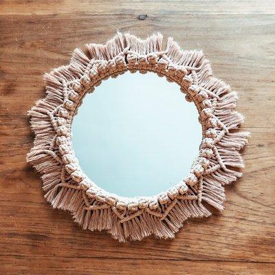 Hibbie Creations Miroir MIRÊ - Rose