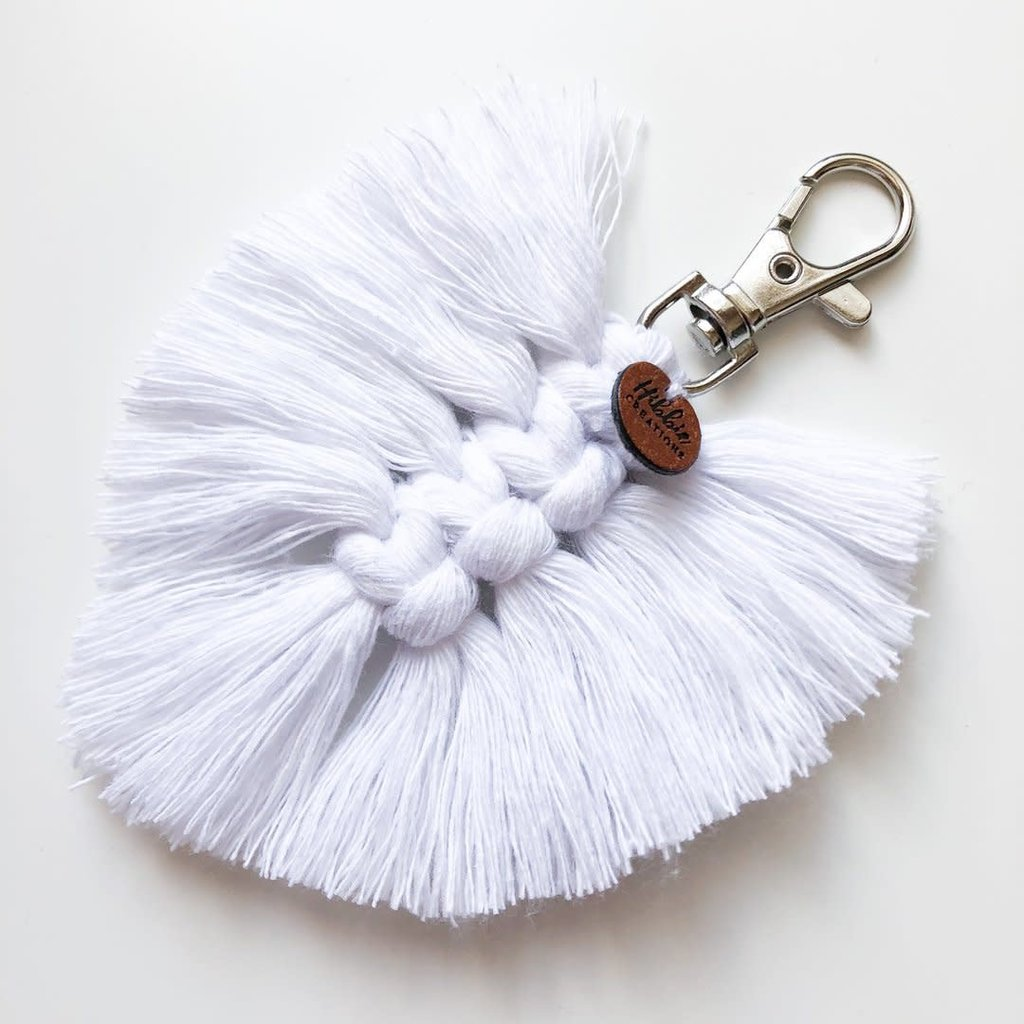 Hibbie Creations Porte-clés plume - PAKO