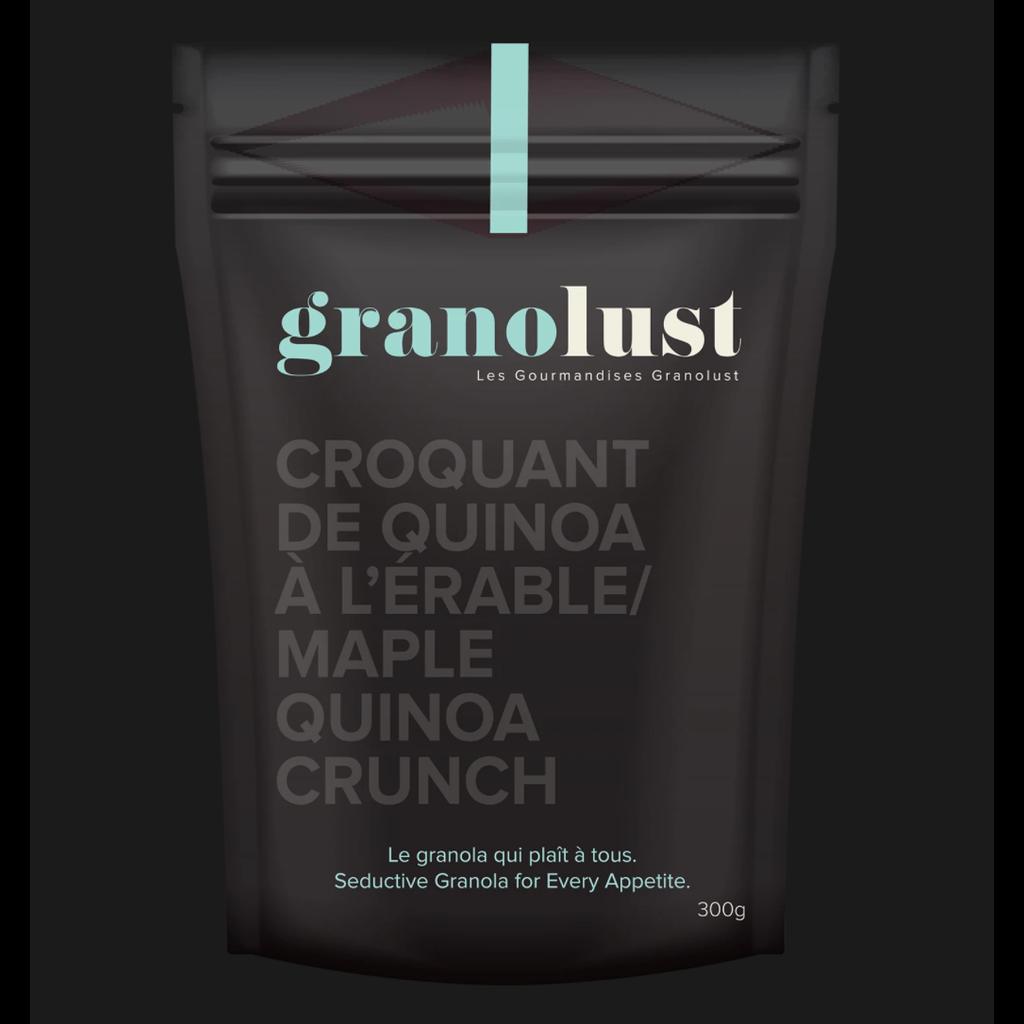 Les Gourmandises Granolust Croquant de Quinoa à l'Érable