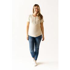 Rose Maternité T-Shirt Talia - Beige