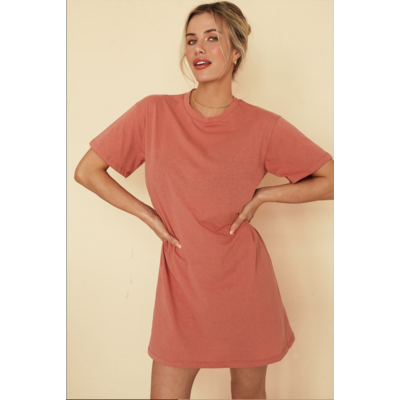 Dailystory clothing Robe Sammie - Terracotta