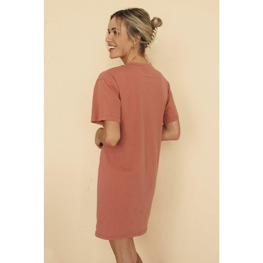 Dailystory clothing Robe Sammie - Terracotta