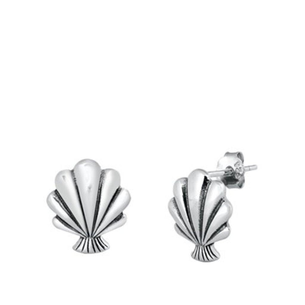 Inédit Bijoux Boucles d'oreilles - Coquillage