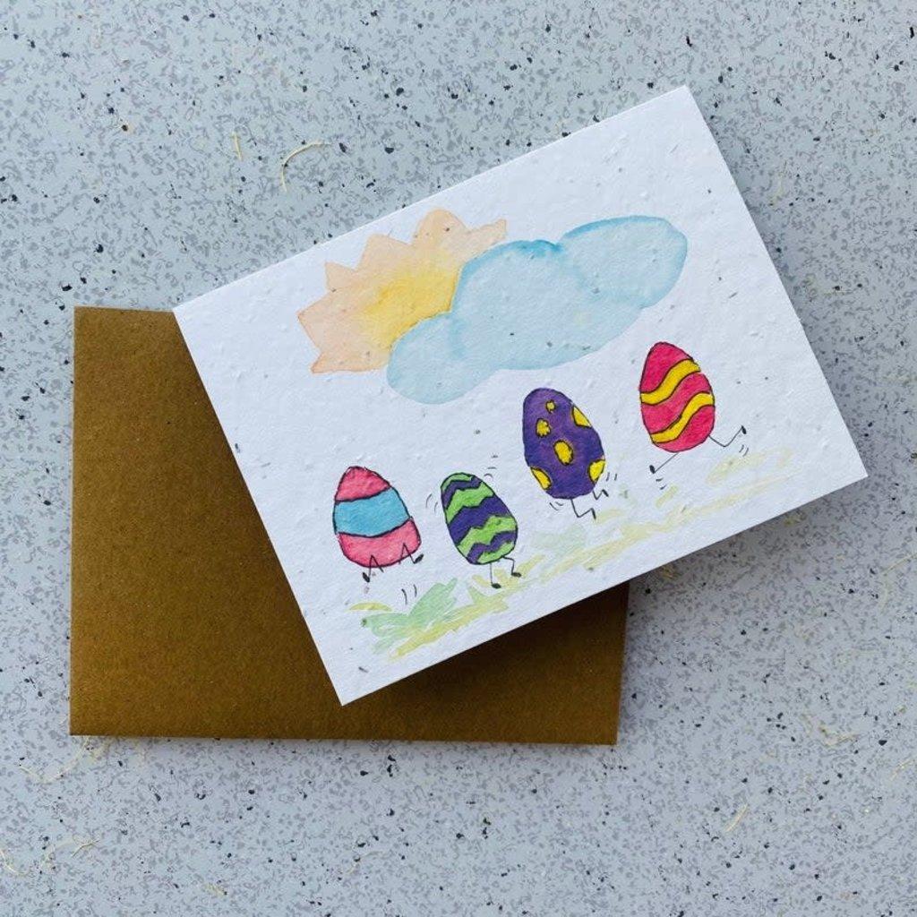 Kit de Survie Carte ensemencé - Oeufs de Pâques