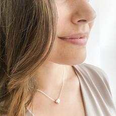 Caracol Collier avec pendentif en coeur