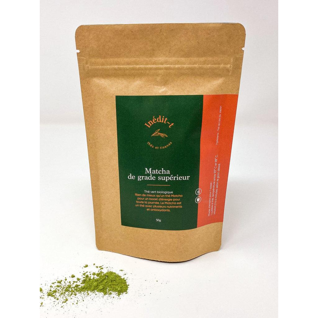 Inédit-T Thé vert - Matcha de grade supérieur