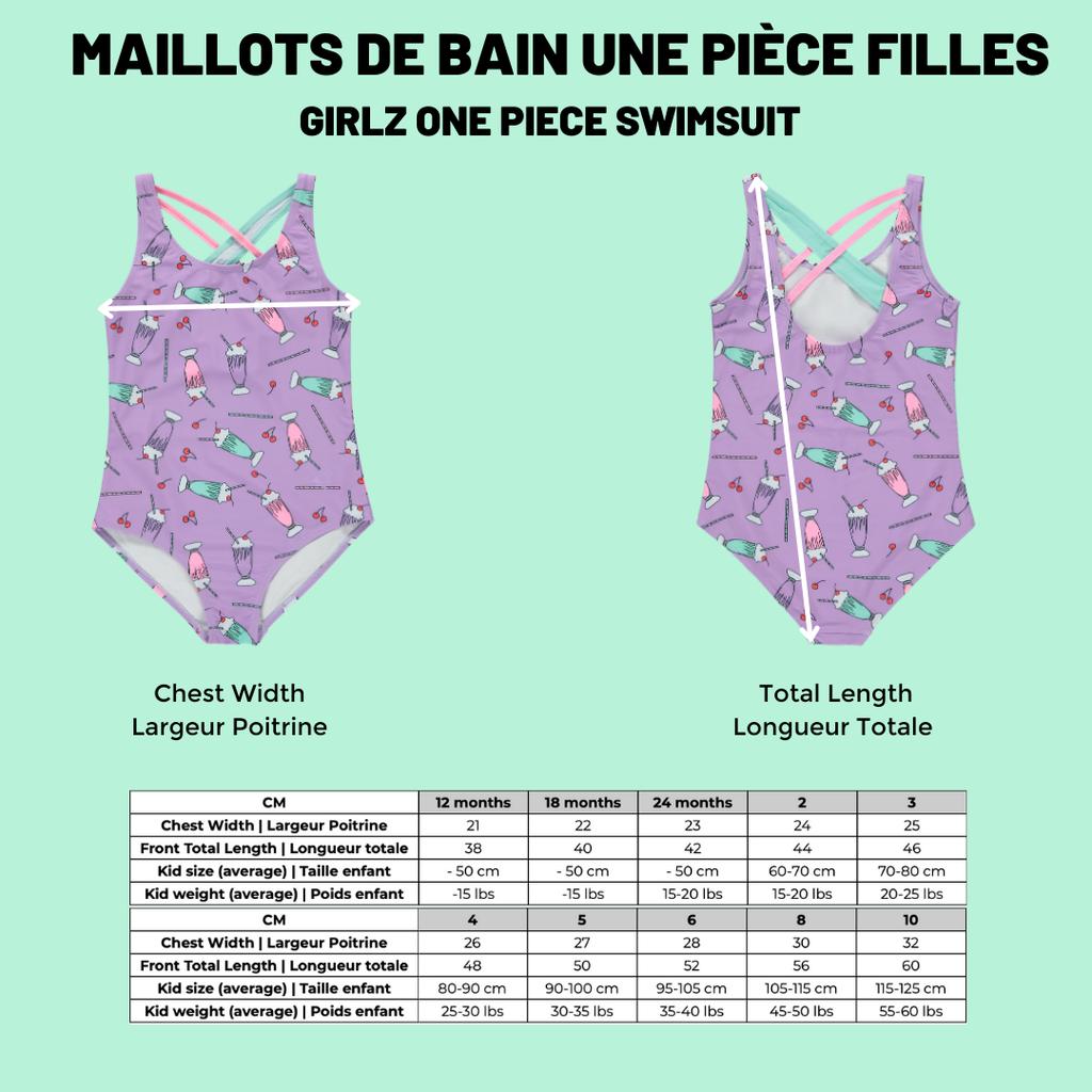 Birdz Maillot de bain enfant - Jungle