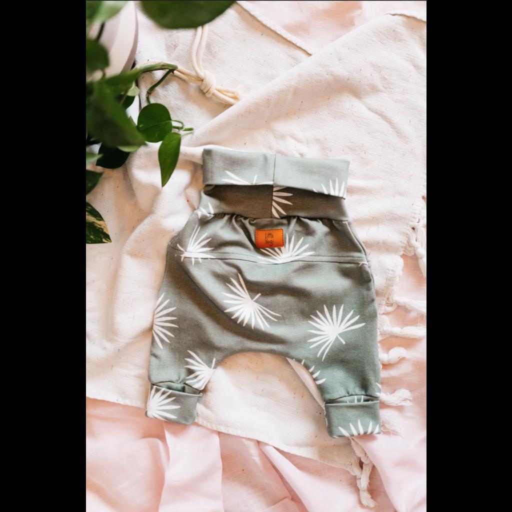 Little Yogi Pantalon évolutif - Palm leaf