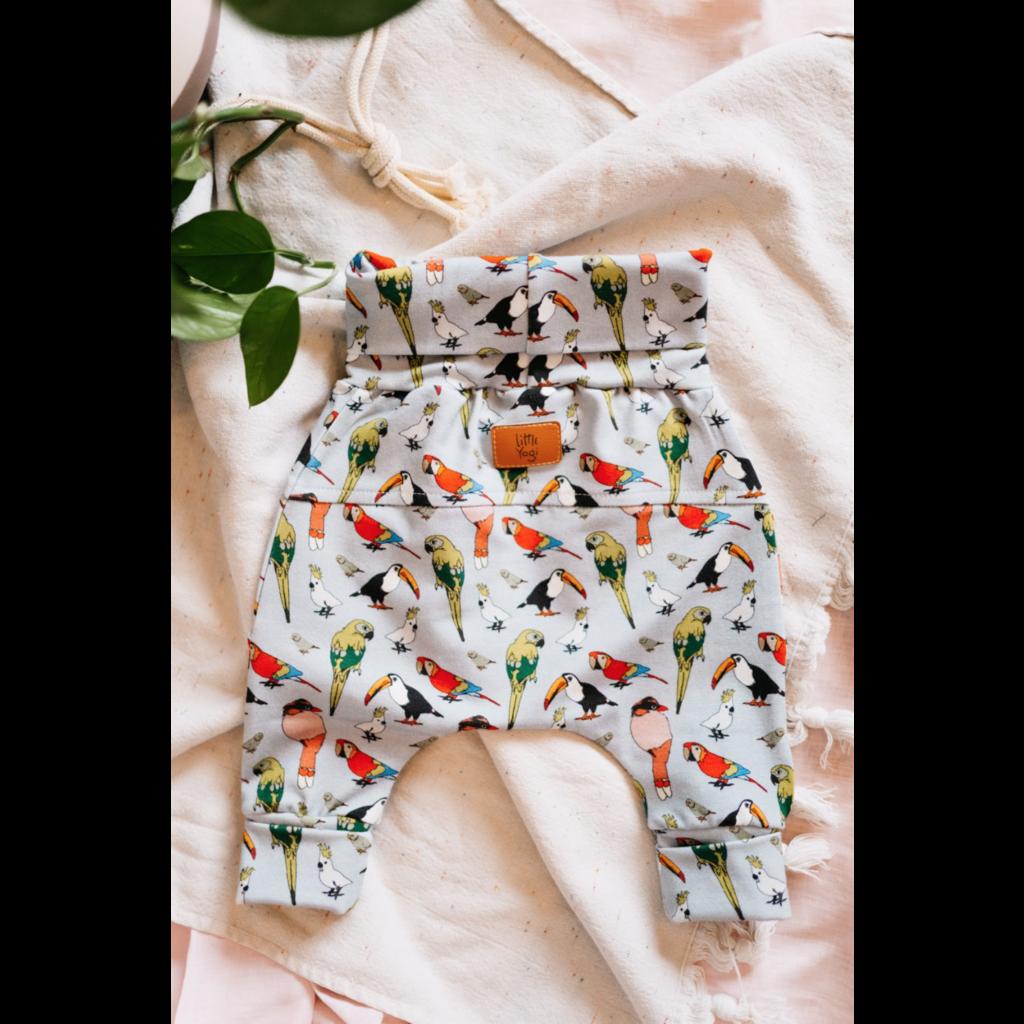 Little Yogi Pantalon évolutif - Oiseaux