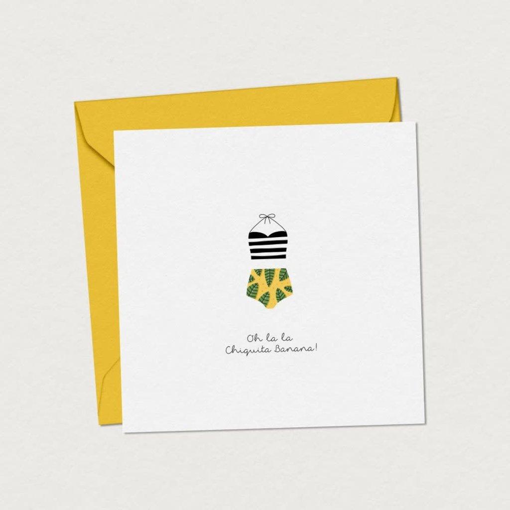 Mimosa Design Carte - Oh la la Chiquita Banana!
