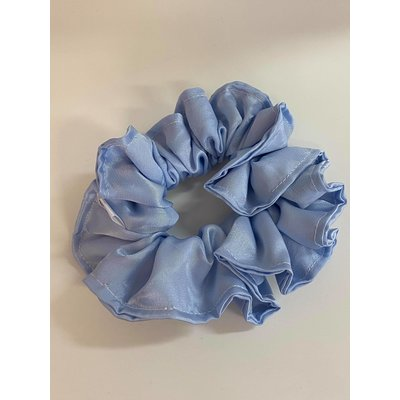 Filabeth Chou à cheveux extra en satin - Bleu