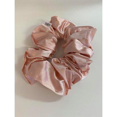 Filabeth Chou à cheveux extra en satin - Rose pâle