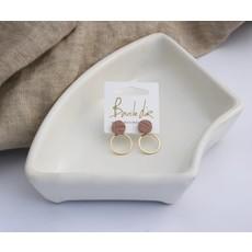 Boucle d'or Boucles d'oreilles - Petits ronds
