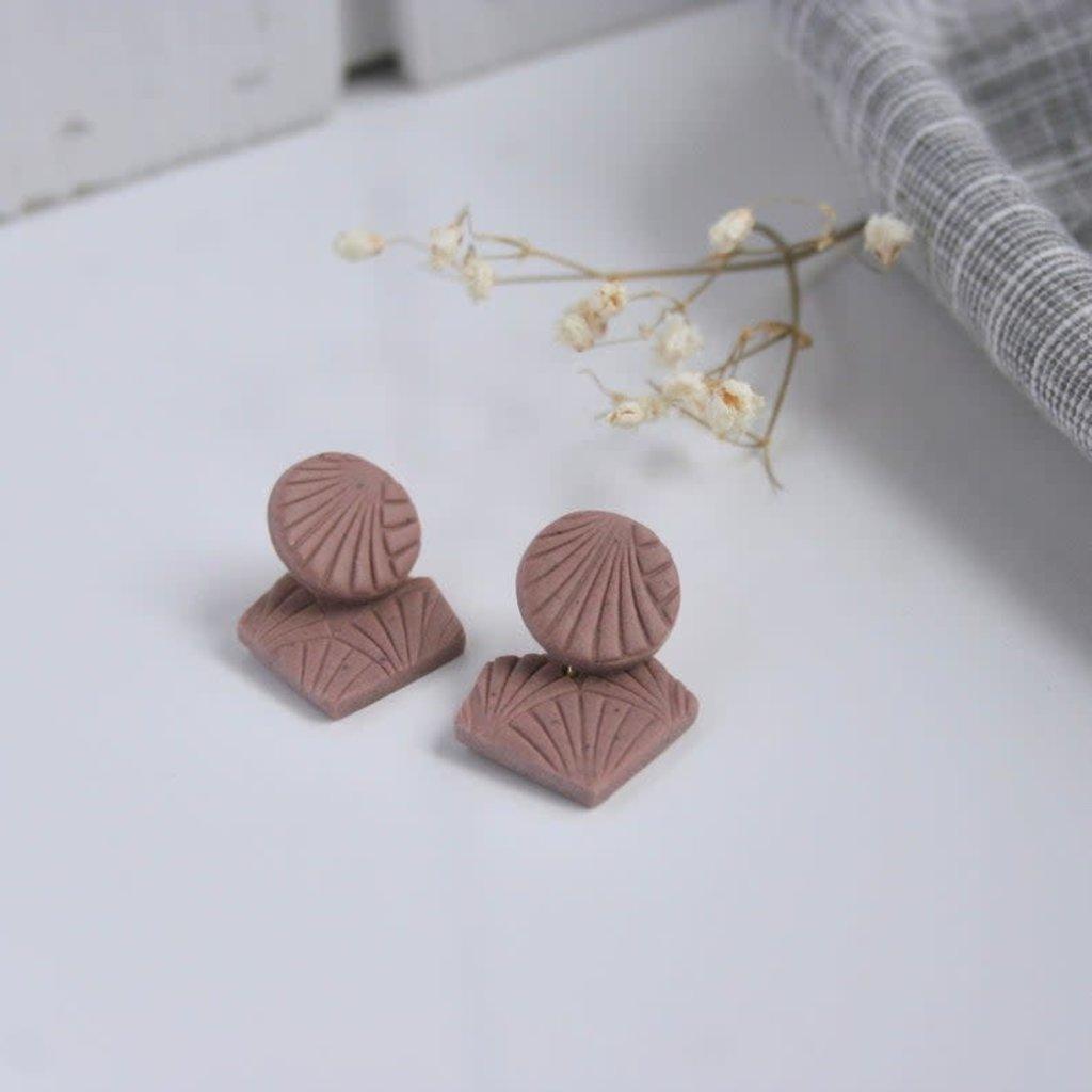Boucle d'or Boucles d'oreilles - Forme polygone
