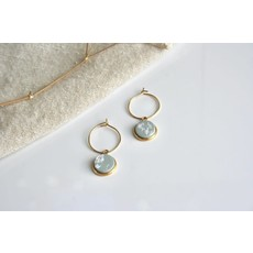 Boucle d'or Boucles d'oreilles - Cercle suspendu