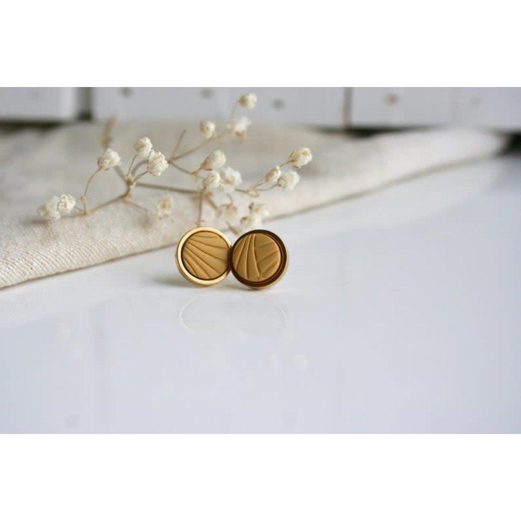Boucle d'or Boucles d'oreilles - Ronds et motifs lignés