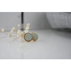 Boucle d'or Boucles d'oreilles - Ronds et motifs chevrons