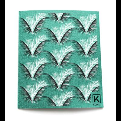 KLIIN Essuie-tout réutilisable - Palmier vert