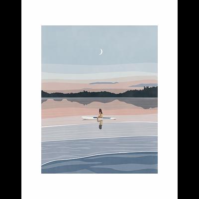Les Barbos Carte postale - Crépuscule