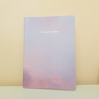 Naomie Design Cahier de note - Ciel rosé