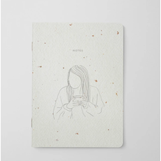Naomie Design Cahier de note - Coffee girl