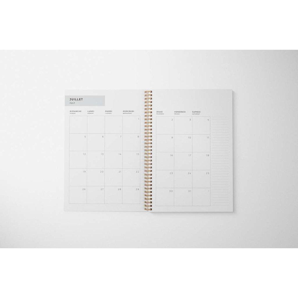 Naomie Design Agenda / Planificateur 2021-2022 - Make it happen
