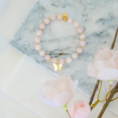 Namasty Bracelet Namasty - Mariposa rose