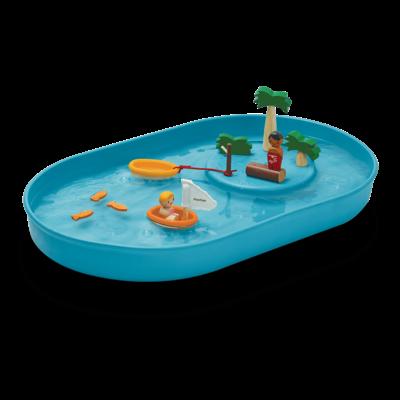Plan Toys Jouet en bois écologiques - Ensemble de jeu d'eau