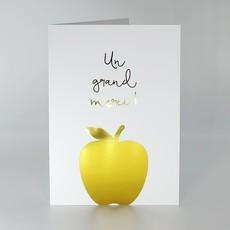 L'écrit reste... Carte - Pomme or