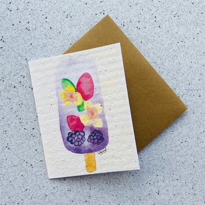 Kit de Survie Carte ensemencée - Popsicle