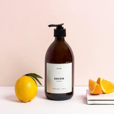 Atelier La Vie Apothicaire Savon à mains - Citron et orange