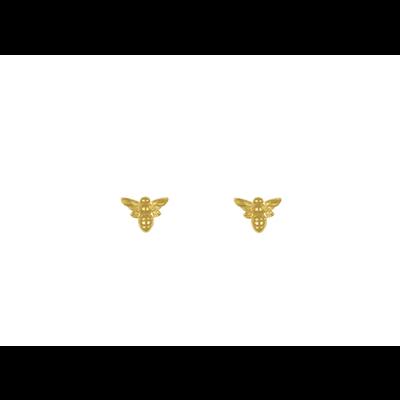 Lost & Faune Boucles d'oreilles à tige - Abeille or