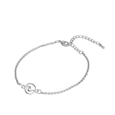 Lost & Faune Bracelet - Vague argent