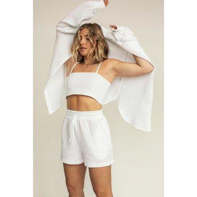 Dailystory clothing Short Maïté blanc