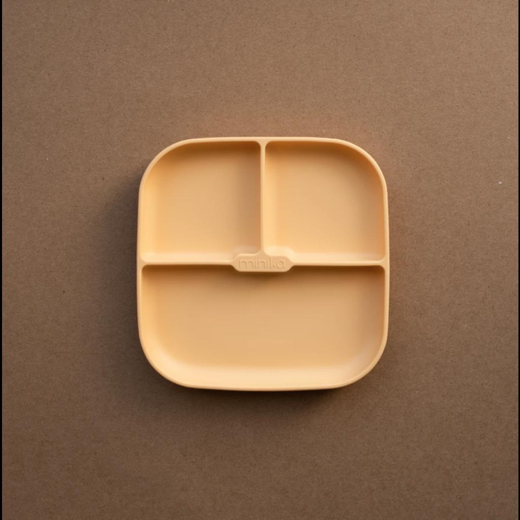 Minika Assiette avec succion en silicone