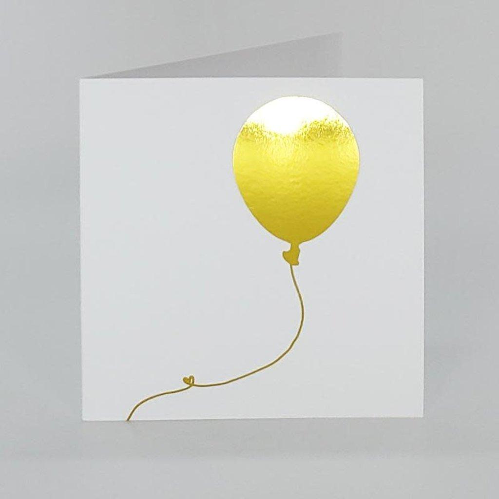 L'écrit reste... Carte (petite) - Ballon