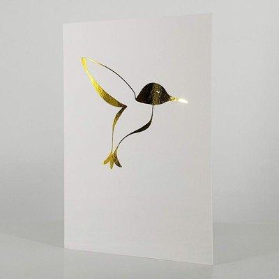 L'écrit reste... Carte - Oiseau