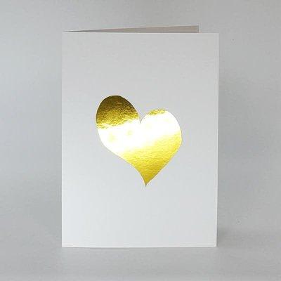 L'écrit reste... Carte - Coeur