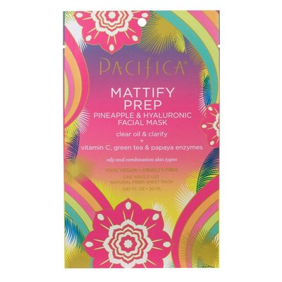 Pacifica Masque facial - Mattify prep ananas et acide hyaluronique