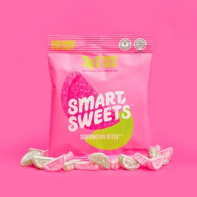 Smart Sweets Bonbons - Melon d'eau surette