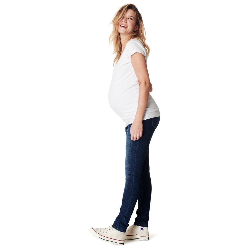 Noppies Maternity Jean slim de maternité Mila - Bleu authentique