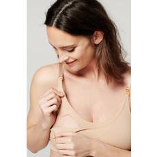 Noppies Maternity Soutien gorge d'allaitement sans couture - Beige